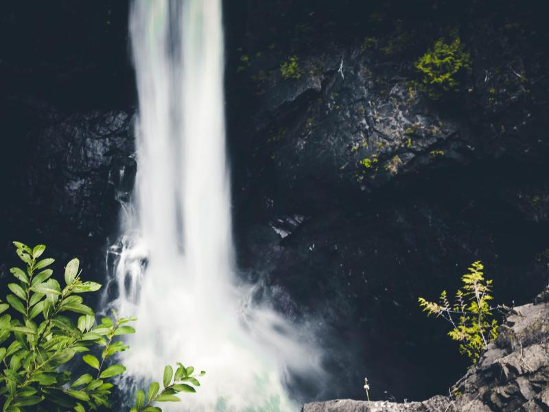 Waterfall on Vancouver Island