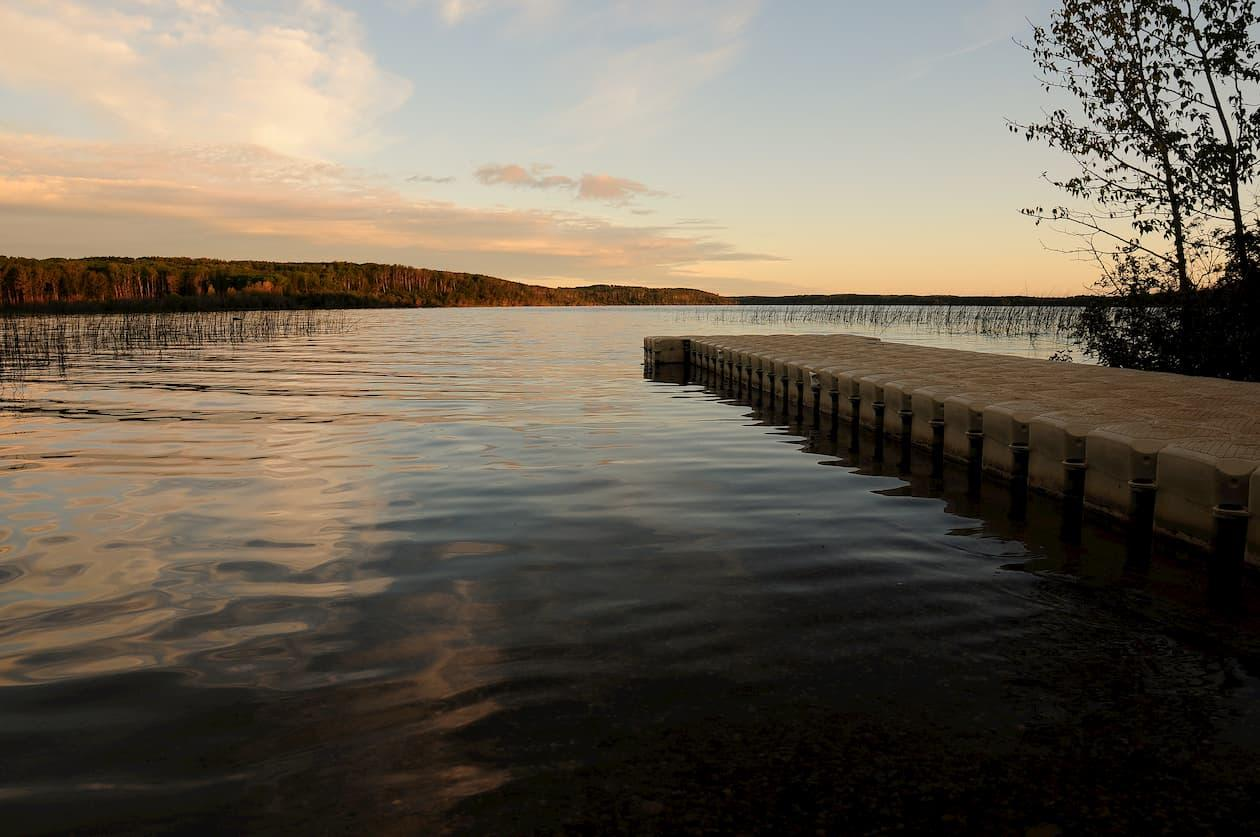 Elinor Lake in Lac La Biche at Sunset #TakeItToTheLake