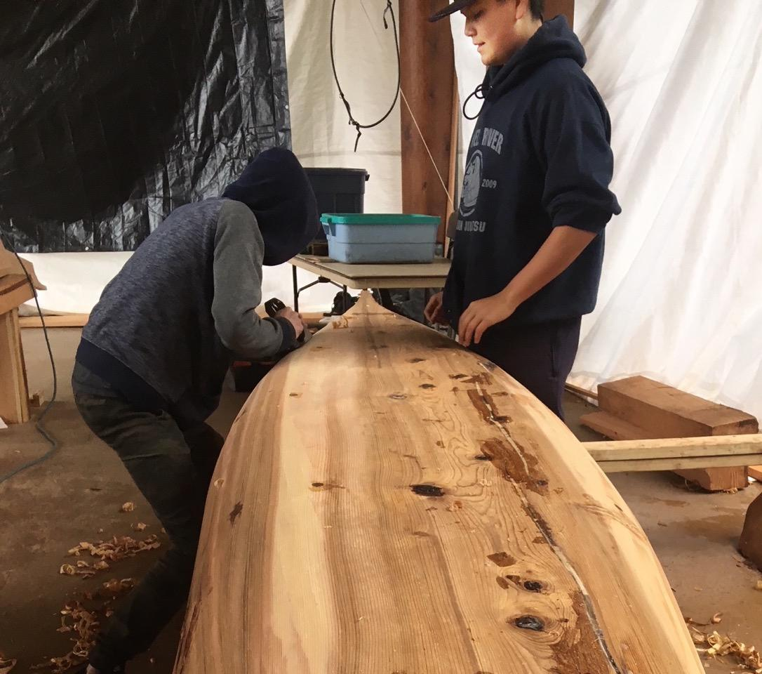 Making a Canoe