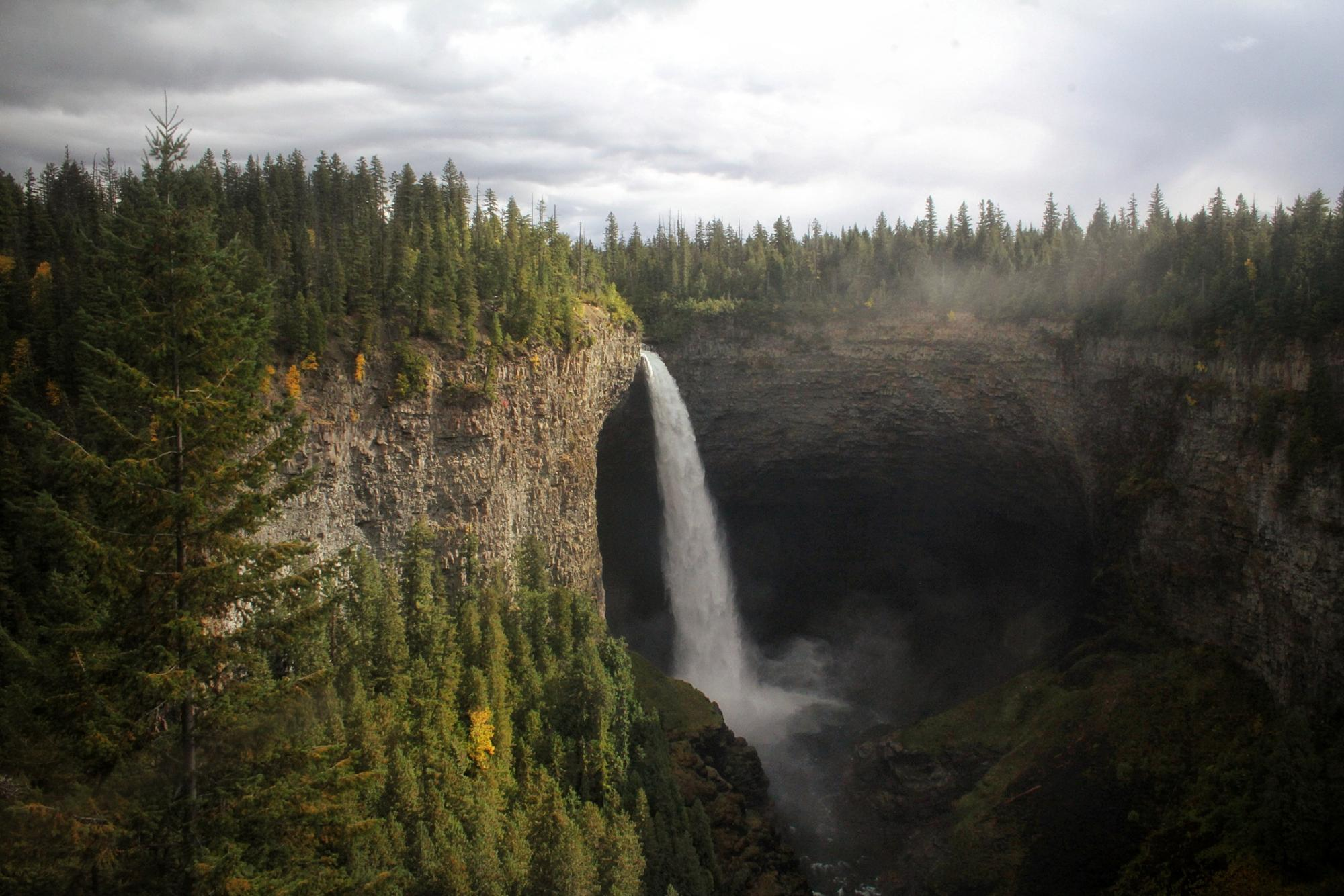 Waterfall in Wells Gray